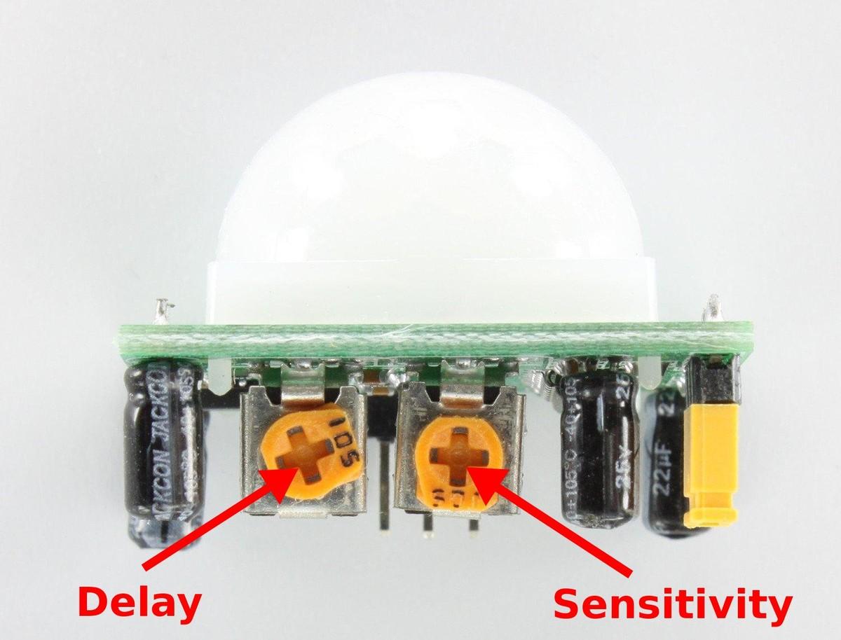 Berühmt Pir Sensor Schaltplan Ideen - Schaltplan Serie Circuit ...