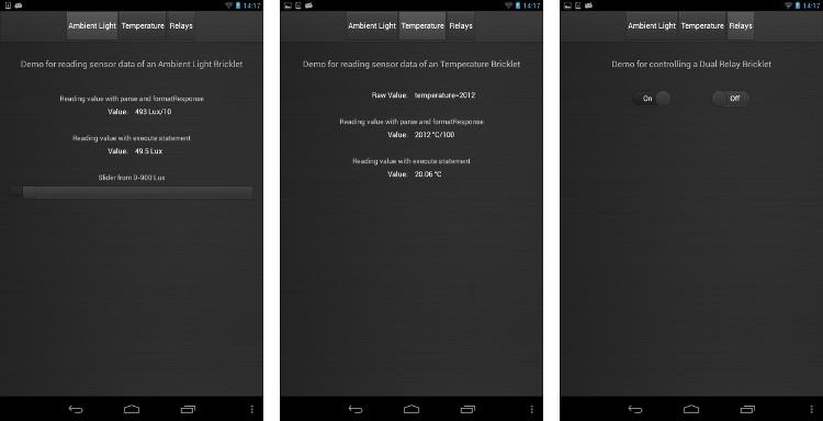 NetIO Controller App Demo UI Config