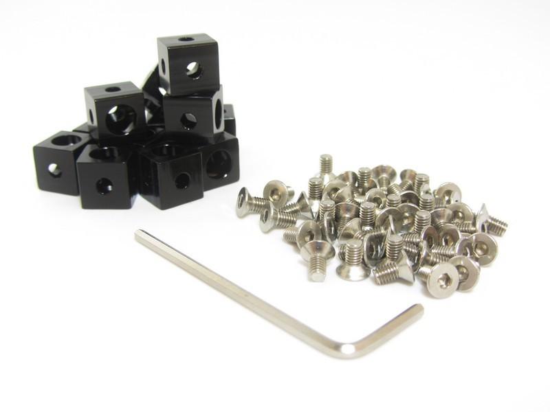 MakerBeam Eckwürfel, 12 Stk.