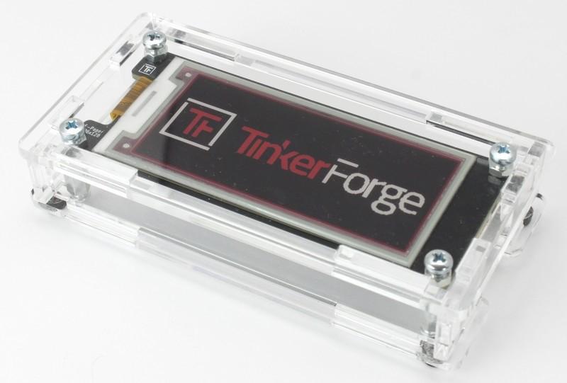 Gehäuse für E-Paper 296x128 Bricklet