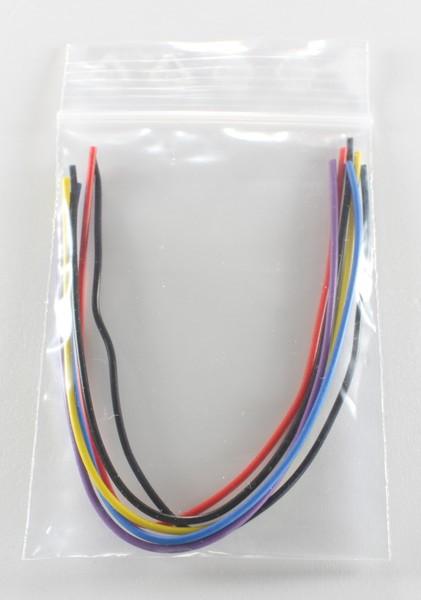 Draht Set 6x15cm (verschiedene Farben)