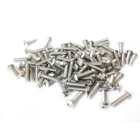 M3 12mm Innensechskant-Schrauben mit quadratischem Kopf, 100 Stück