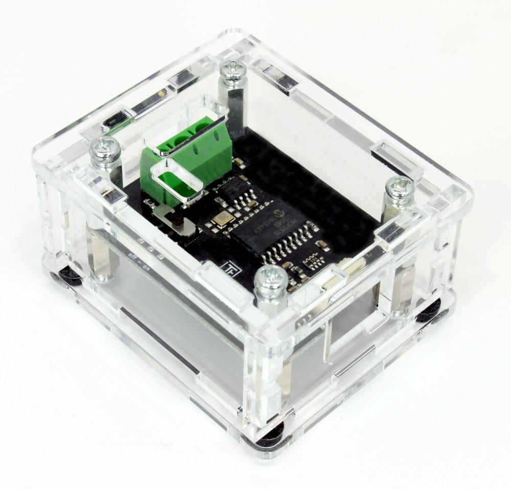 Doc Tinkerforge Sound Sensor Electronic Brick Digital Output Case For Can Bricklet