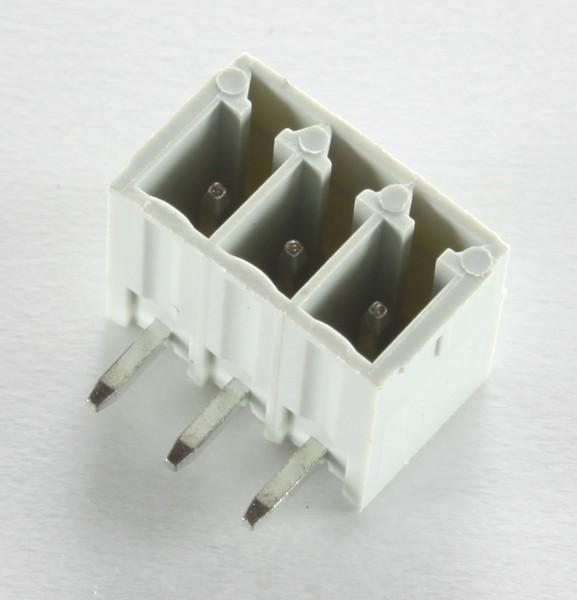 3 Pole Grey Connector Header