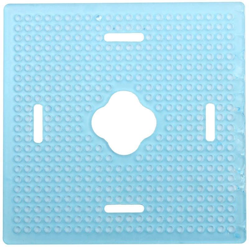 Mounting Plate 22x22 (12x12cm) with cable lead-through