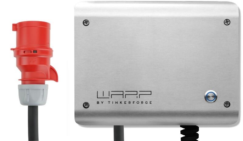 CEE Stecker für 22kW WARP2 Charger Anschlusskabel