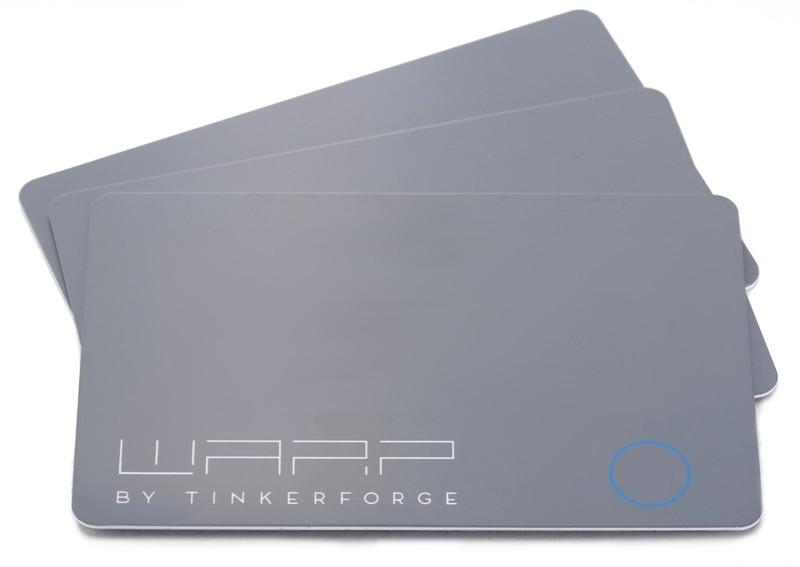 WARP2 NFC Cards (3 pcs)