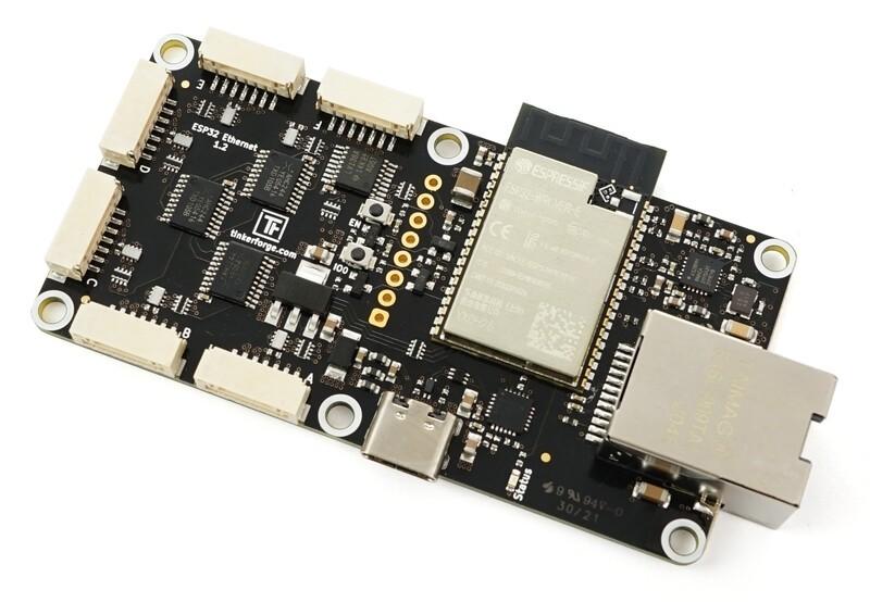 ESP32 Ethernet Brick with WARP2 Firmware
