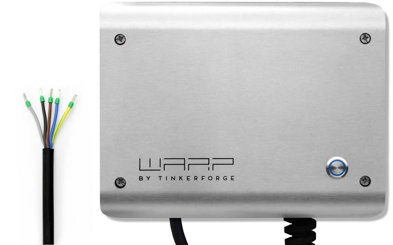 Konfigurierbares Anschlusskabel für 22kW WARP2 Charger