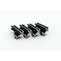MakerBeam 40mm, 8pcs, black