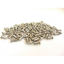 M3 Wing Type Bolts with Hex Hole, 6mm, 100pcs
