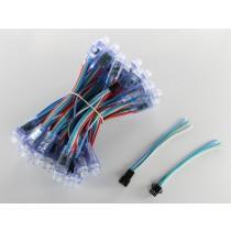 RGB LED Pixels, 50pcs, WS2801