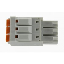 3 Pole Gray Connector