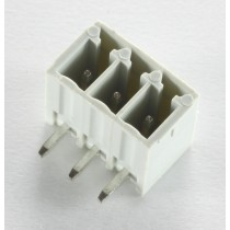 3 Pole Grey Connector Header