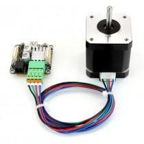 Stepper Motor, Nema 17, 0.43Nm