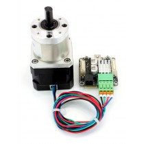 Stepper Motor with Gearbox 27:1, 3Nm