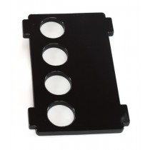 Weather Station leftside wall replacement (black)