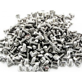 M3 Square Headed Bolts with Hex Hole, 6mm, 250pcs