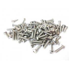 M3 Square Headed Bolts with Hex Hole, 12mm, 100pcs