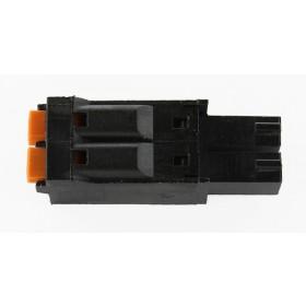 2 Pole Black Connector
