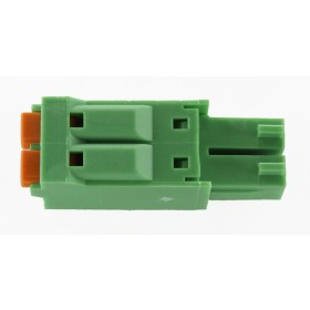 2 Pole Green Connector