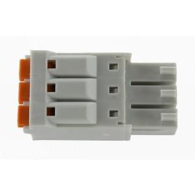 3 Pole Gray Connector
