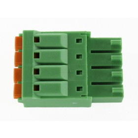 4 Pole Green Connector