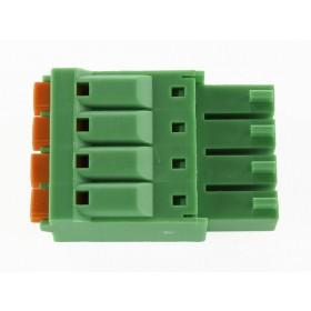 4 Pole Green Connector