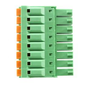 8 Pole Green Connector