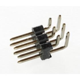 Right Angle Pin Header 2x3
