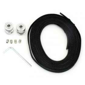 Timing Belt with Pulleys