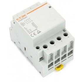 Contactor 4 pole, DIN-Rail, 63A
