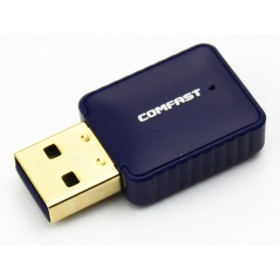 Wi-Fi/Bluetooth USB Adapter with Internal Antenna