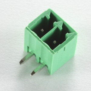 2 Pole Green Connector Header